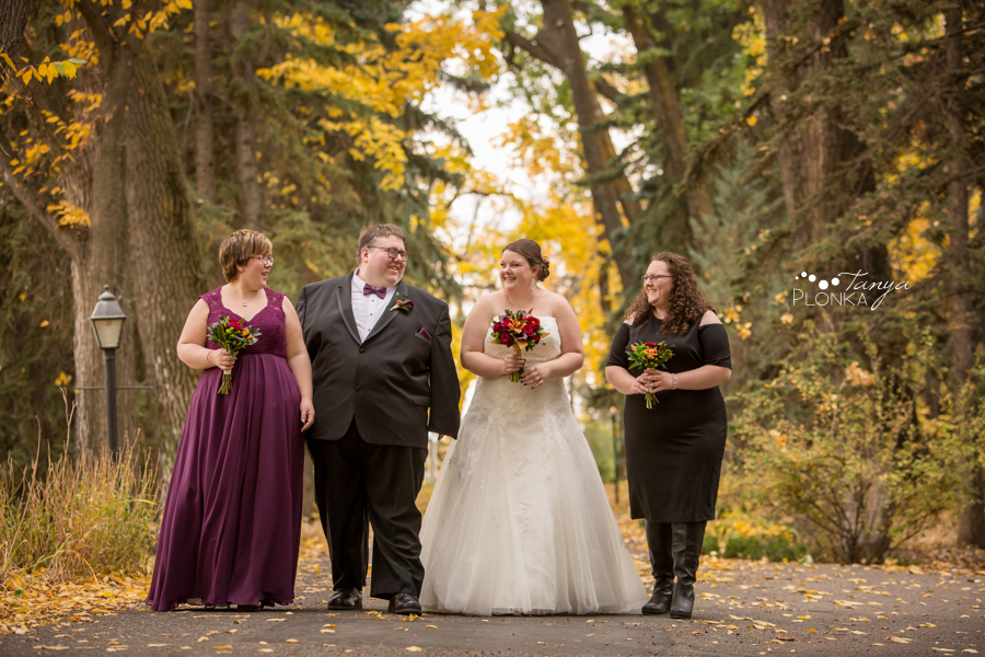 Raiven & Jonathan, Lethbridge Norland Estate autumn wedding