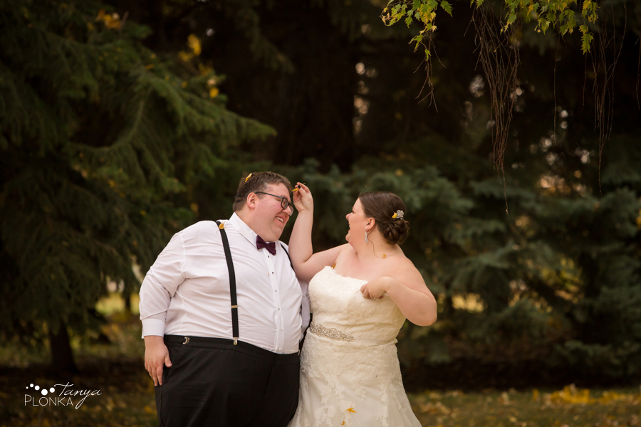 Raiven & Jonathan, Lethbridge Norland autumn wedding