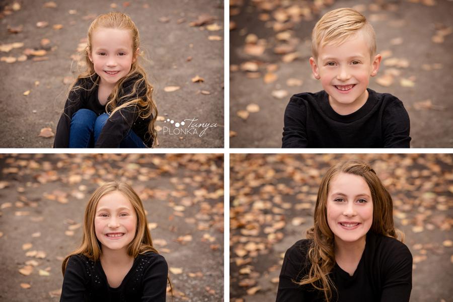 Indian Battle Park fall family portraits