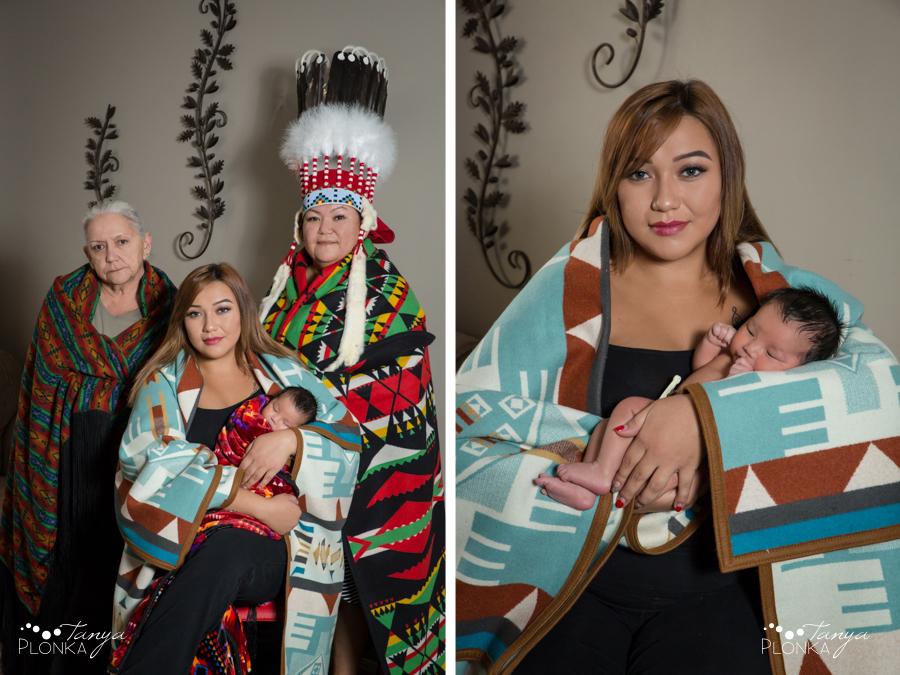 Lethbridge family photos of three generations