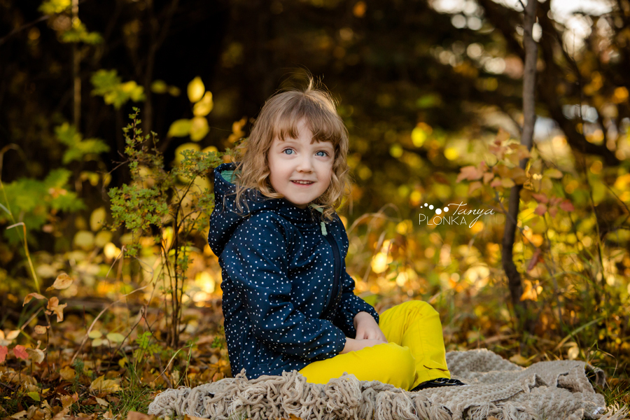 West Lethbridge fall family photo session