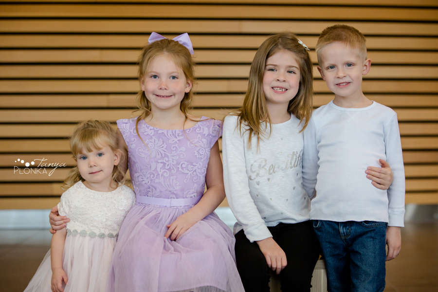 Lethbridge indoor family photo session