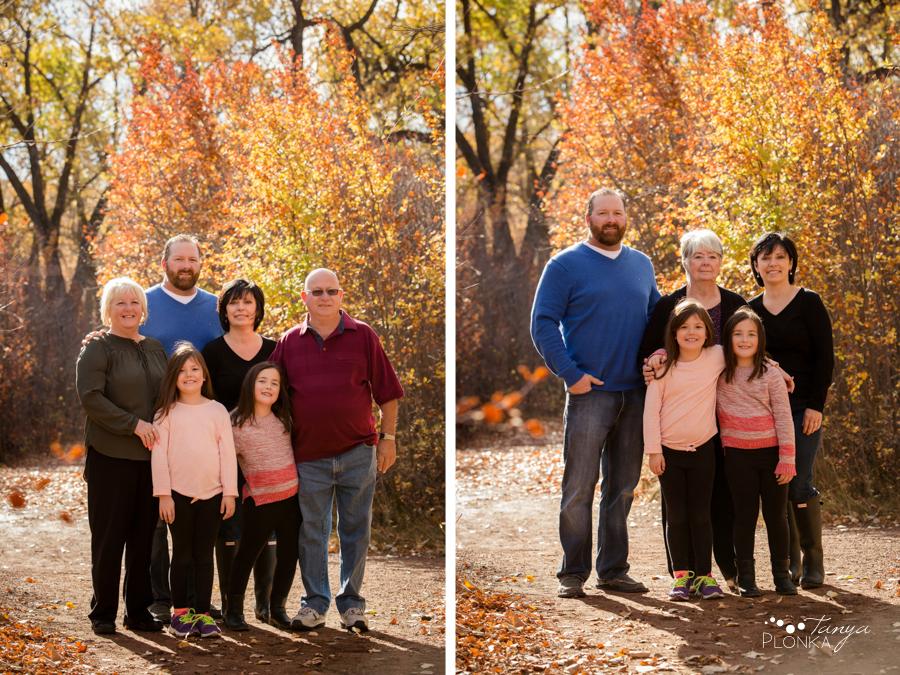 Lethbridge autumn family portraits