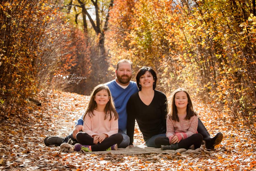 Lethbridge autumn morning family photos