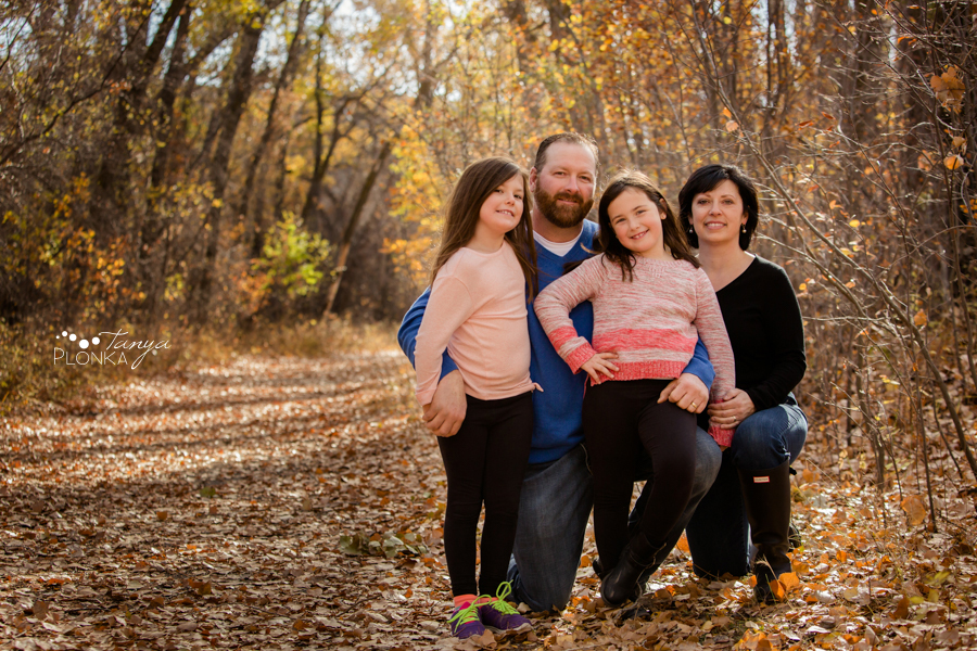 Pavan Park autumn morning family portraits