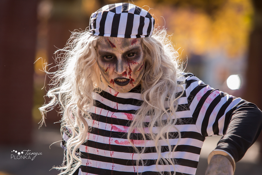 Lethbridge Zombie Walk 2017 in Galt Gardens