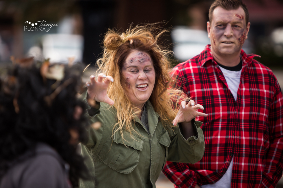 Lethbridge Zombie Walk 2017 in Galt Gardens