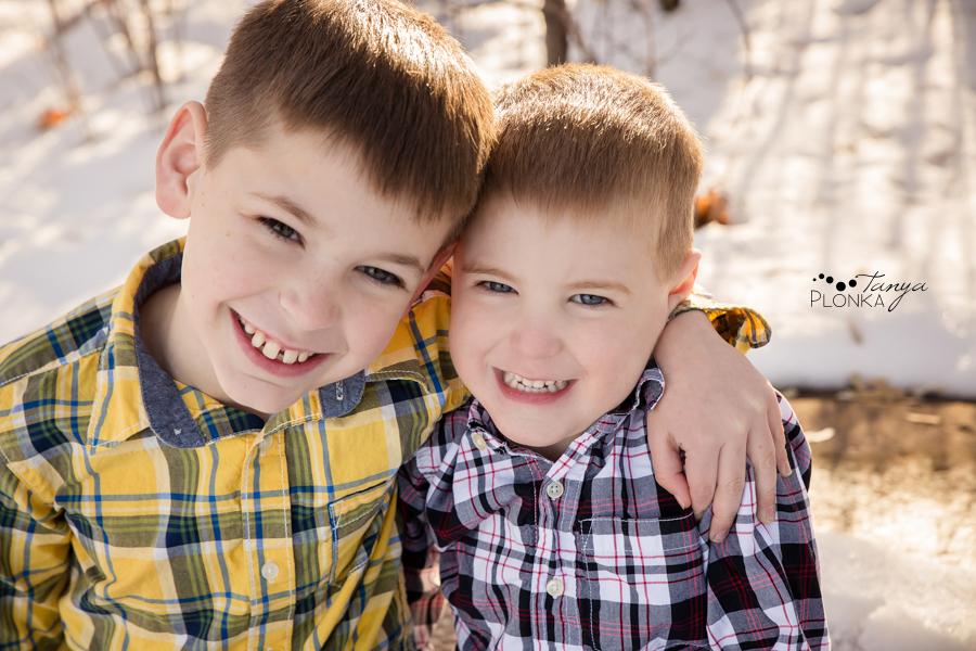 outdoor Lethbridge winter kids photos