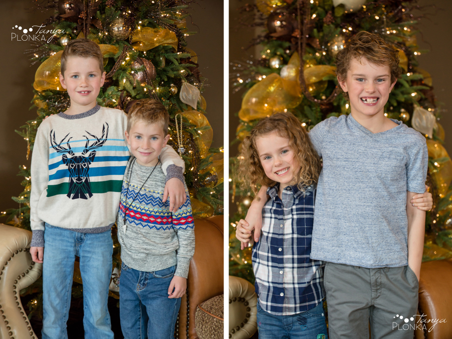 indoor Lethbridge family photos
