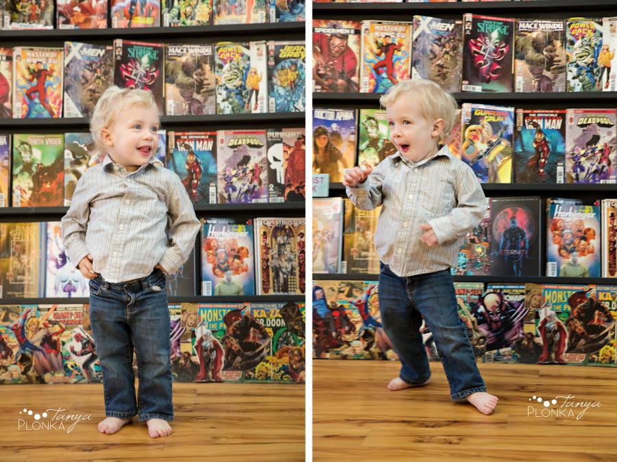 Lethbridge comic book shop family photos