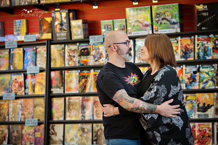 Lethbridge comic store family photos