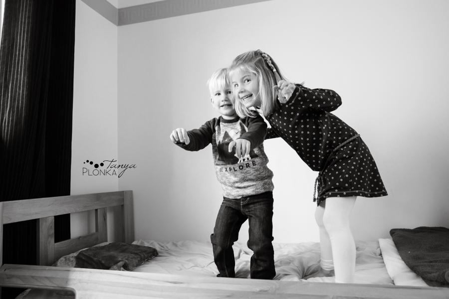Coaldale indoor family photos