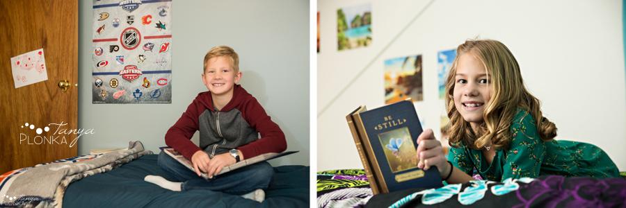Coaldale indoor lifestyle family photography