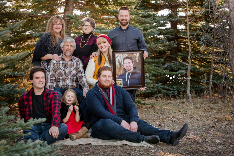 four generation family photos in Lethbridge