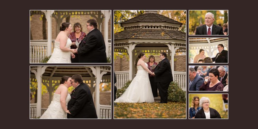 Norland Estate wedding photography album