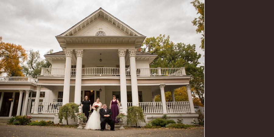 Norland Historic Estate wedding photography album