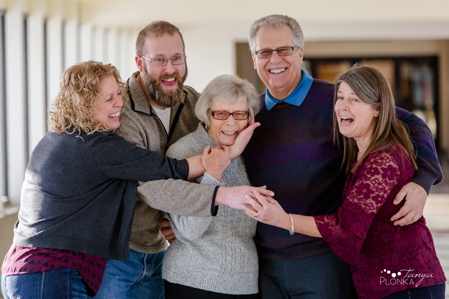 Three Generation Family Photos in Lethbridge