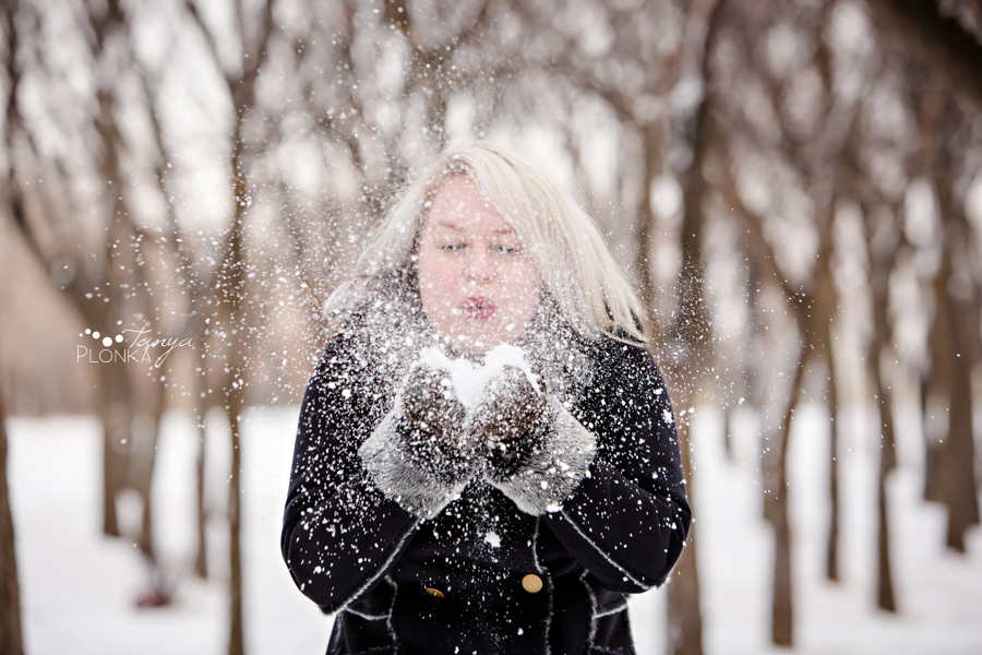 Lethbridge winter headshot session