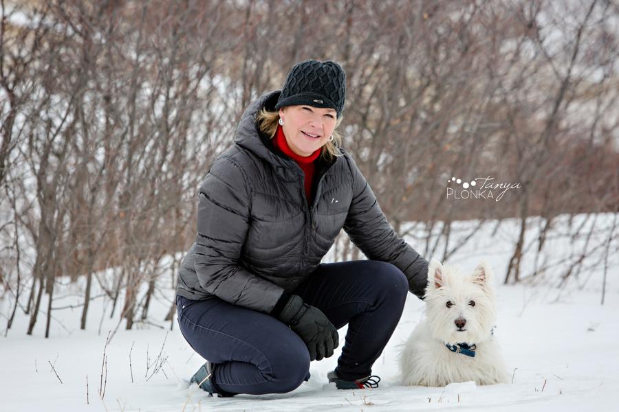 Lethbridge winter dog photography