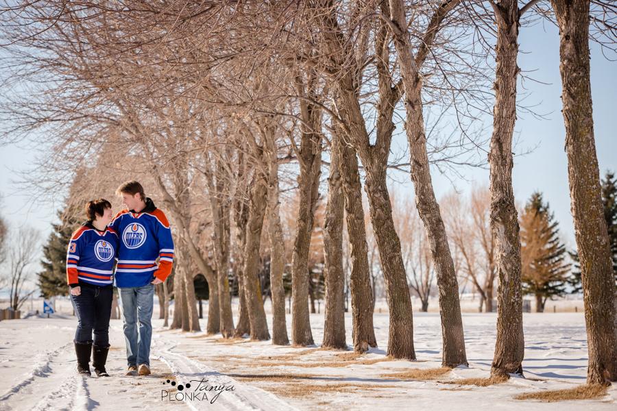 Lethbridge outdoor winter couples photos