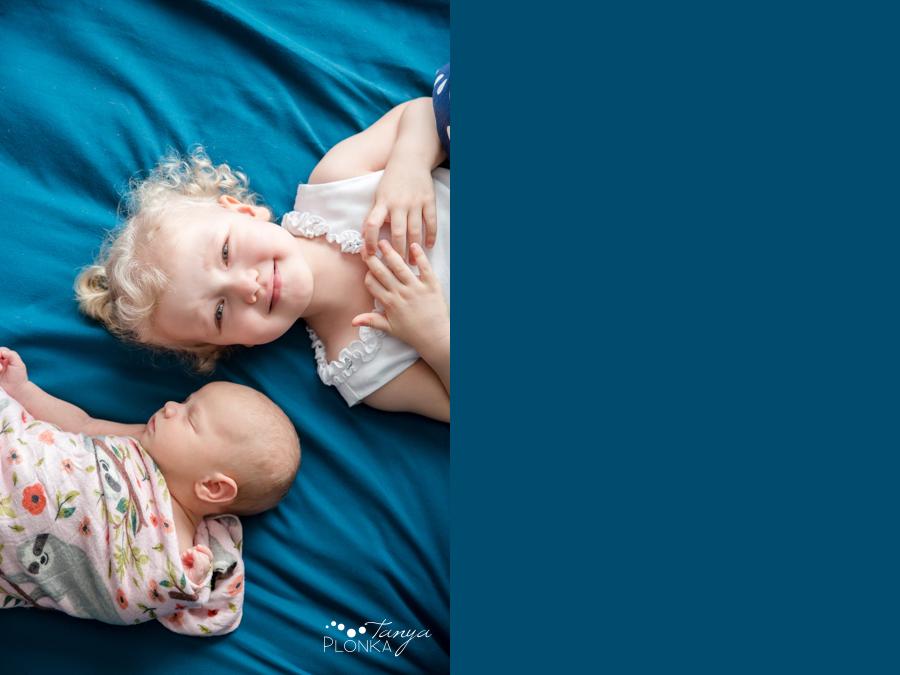 Lethbridge indoor family newborn session