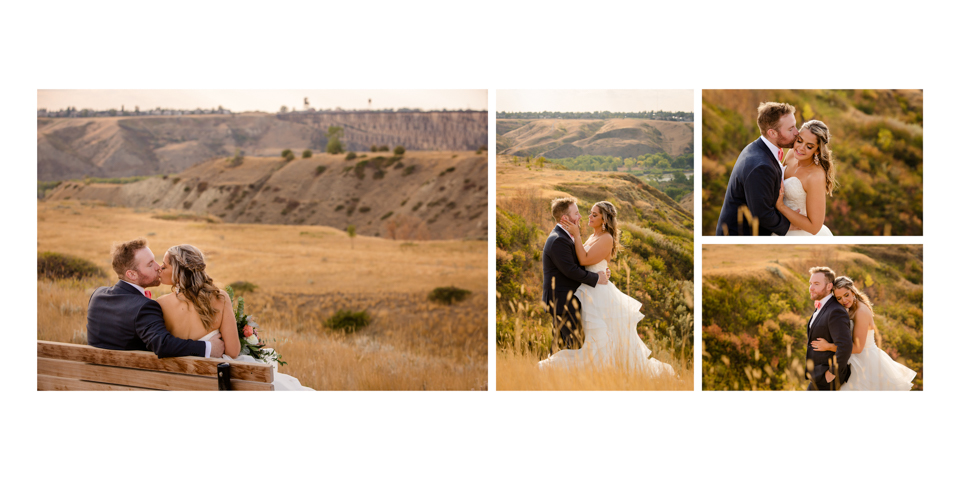 Krysty and Kole, Lethbridge Research Centre wedding album
