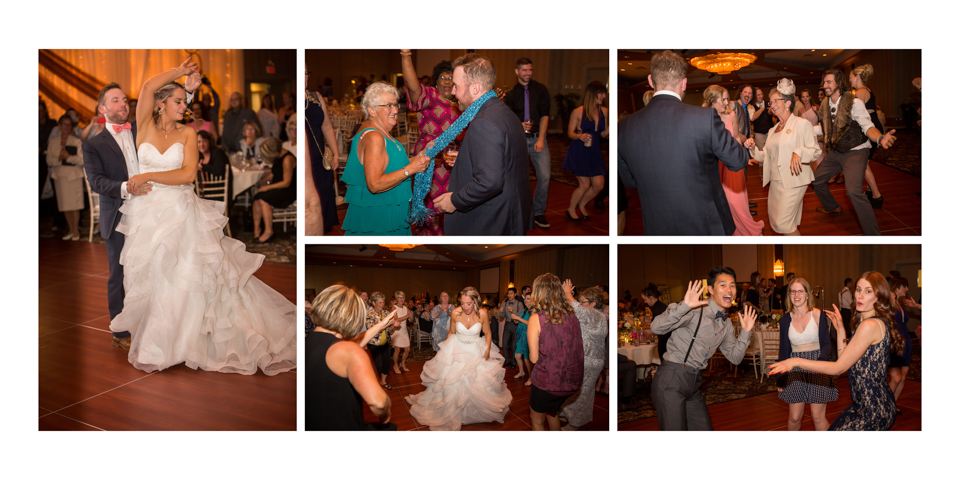 Krysty and Kole, Lethbridge Coast Hotel wedding album