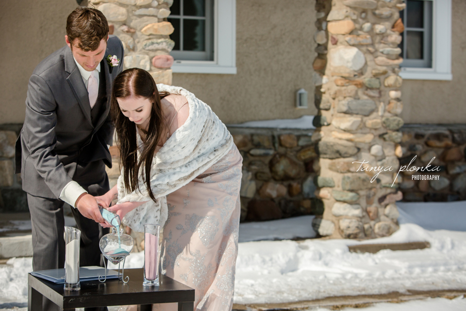 Kayla & Lucas, Waterton Winter Elopement Photography