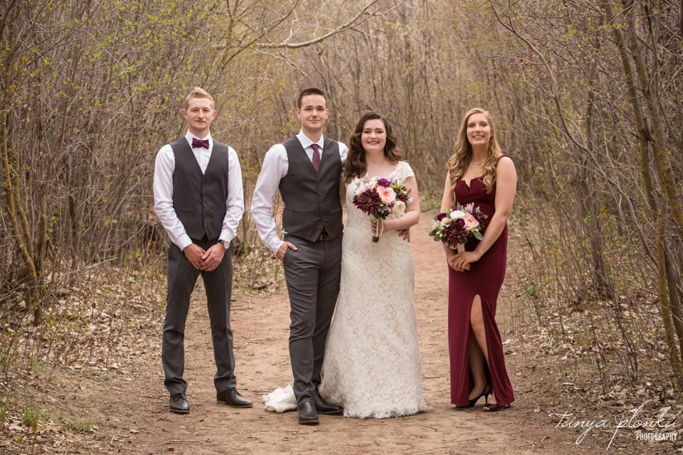 Bailey and Wes, Pavan Park outdoor spring wedding