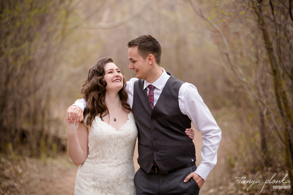 Bailey and Wes, Lethbridge wedding photography