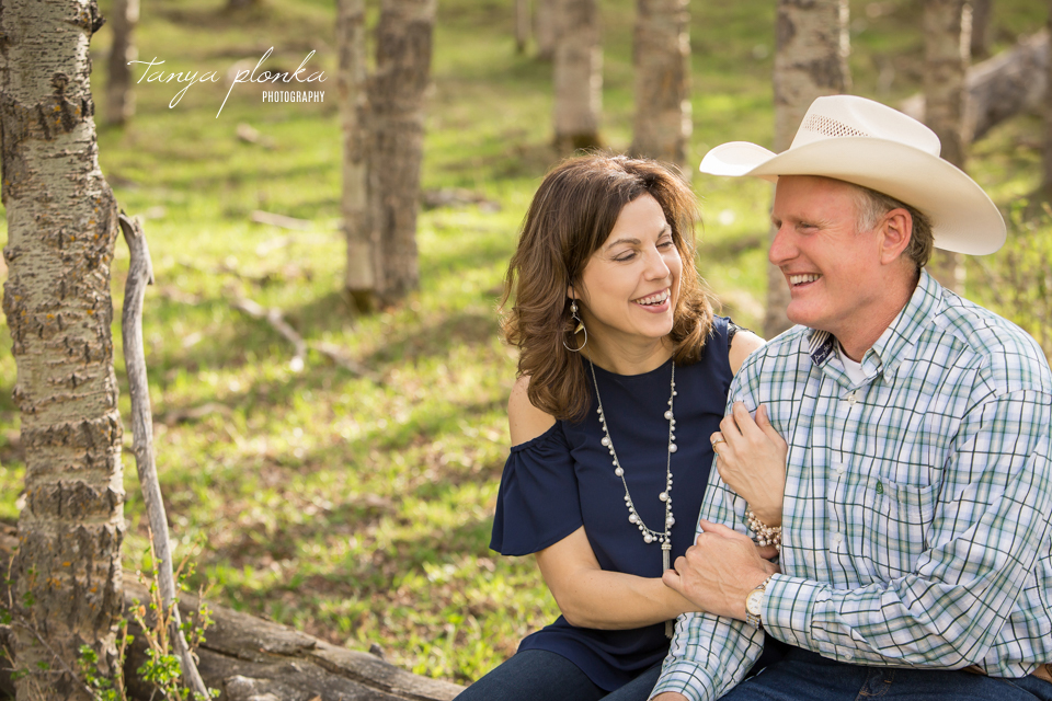 Claresholm engagement photography