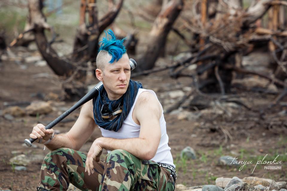 Waterton post-apocalypse cosplay