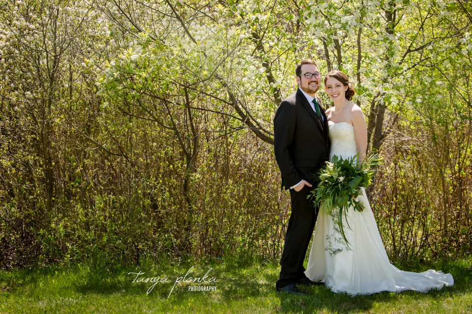 Erin and Taylor, Lethbridge spring wedding photography