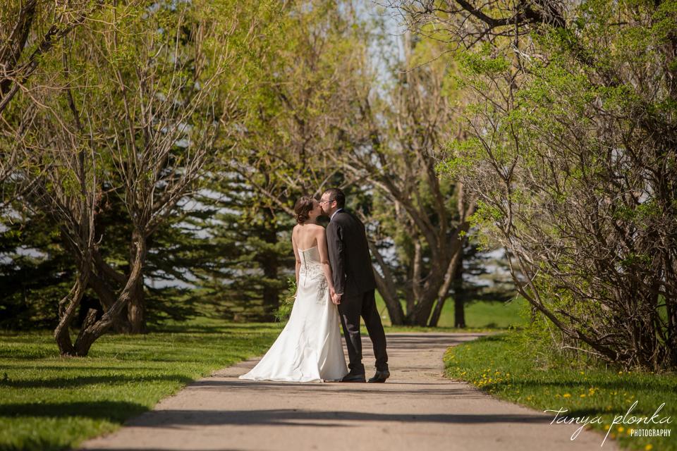 Erin and Taylor, Lethbridge spring wedding photography