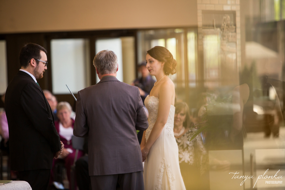 Erin and Taylor, Lethbridge City Hall spring wedding