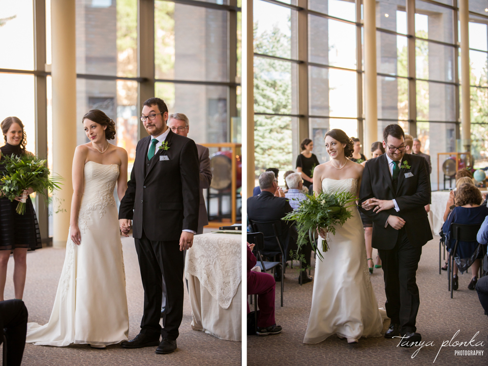 Erin and Taylor, Lethbridge City Hall wedding ceremony