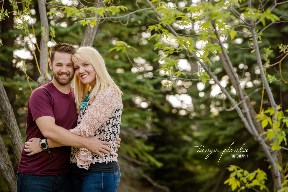 Lethbridge spring evening family photo session