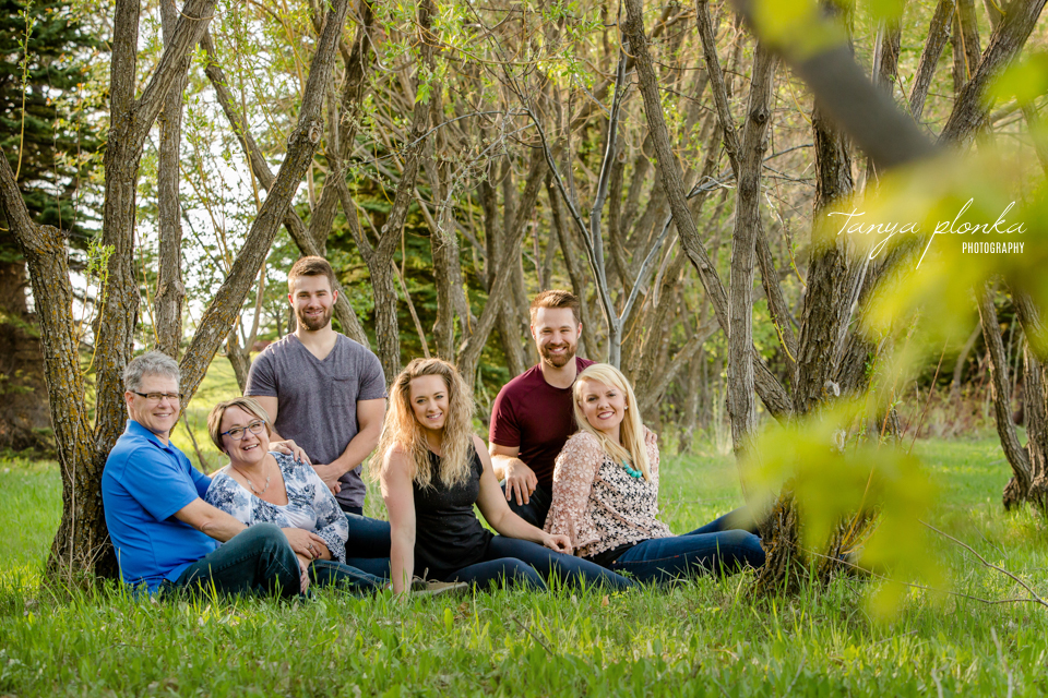 Lethbridge spring evening family photos