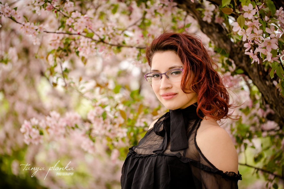 Lethbridge cherry blossom photoshoot