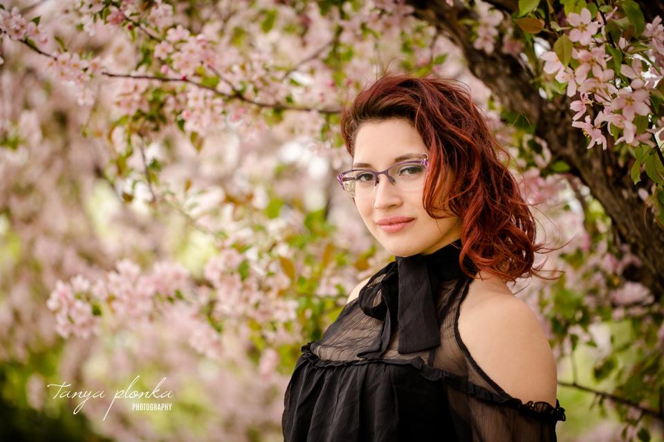 Lethbridge cherry blossom photoshoot