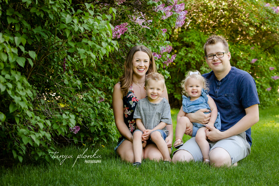Lethbridge family lilac photography