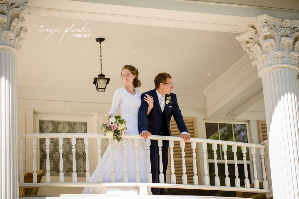 Robyn and Wayne, Norland Estate Lethbridge wedding photos