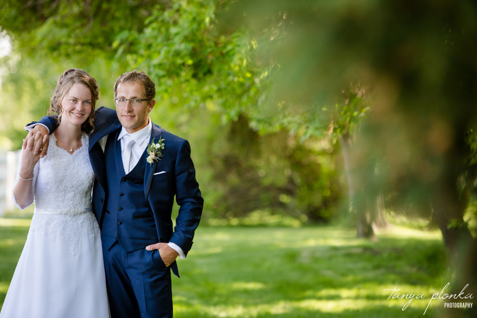 Robyn and Wayne, Norland Estate wedding portraits