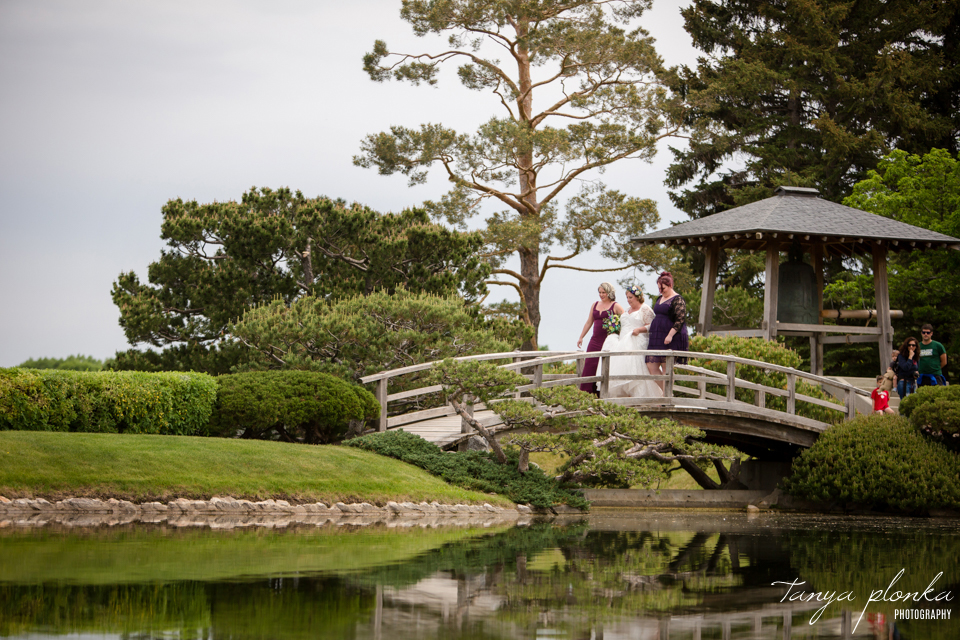 Mary and Dale, Nikka Yuko Japanese Garden wedding ceremony