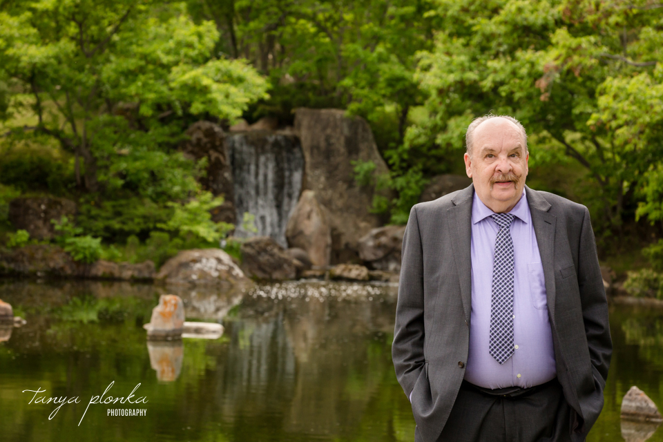 Mary and Dale, Lethbridge Japanese Garden wedding photos
