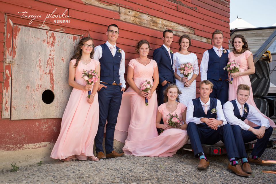 Kate and John, Romantic Fort Macleod Wedding Photography