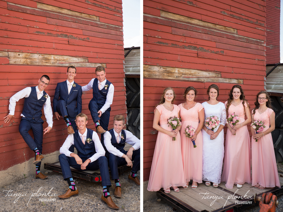 Kate and John, Fort Macleod Wedding Photography