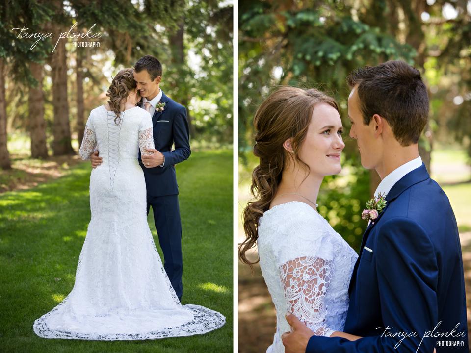 Kate and John, Romantic Fort Macleod Wedding Photography