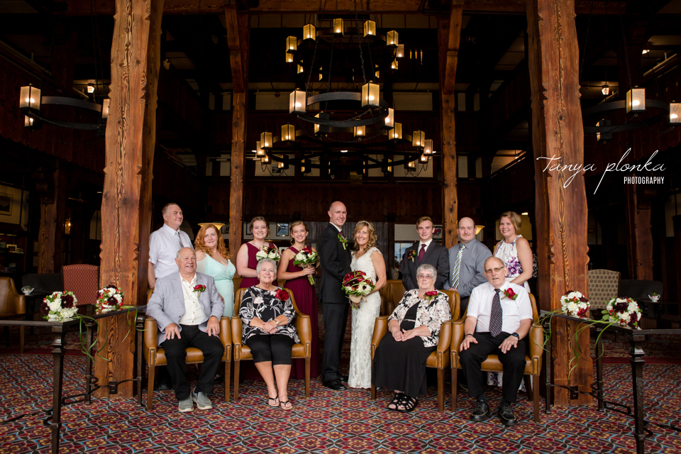 Jennifer and Scott, Prince of Wales wedding ceremony