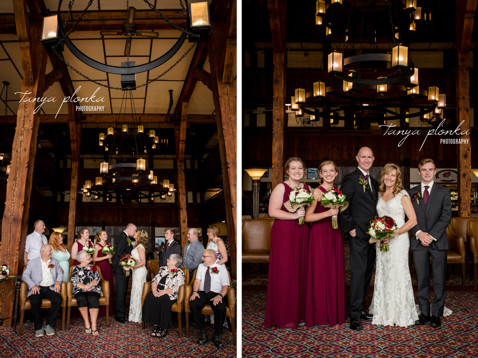 Jennifer and Scott, Prince of Wales wedding photography